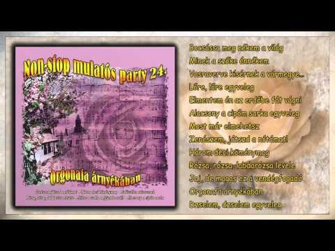 ✮ Orgonafa árnyékában ~ Non stop mulatós party 24  rész teljes album letöltés