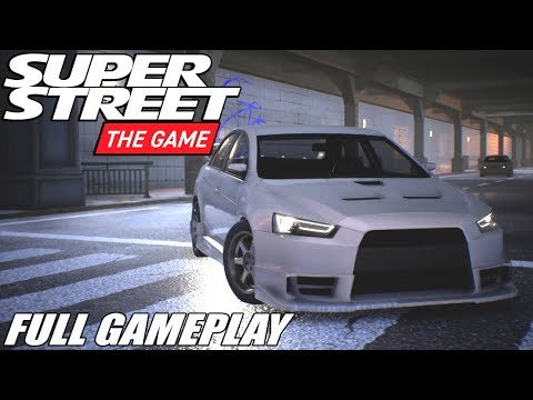Super Street: The Game [FULL GAMEPLAY]