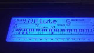 Видео урок - Остров детства (синтезатор)