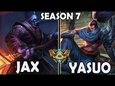 Best Jax Korea (59% Win Ratio) vs Yasuo TOP Rank #31 Challen
