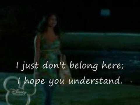 High School Musical 2 - Gotta Go My Own Way (with video & lyrics)