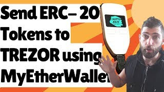 How to send ERC 20 Tokens to your Trezor using MyEtherWallet {easier than you think)