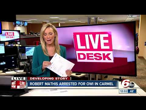 Former Indianapolis Colt Robert Mathis arrested on drunken driving charges