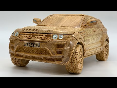 Wood Carving – Range Rover Evoque Overfinch 2013 – Woodworking Art