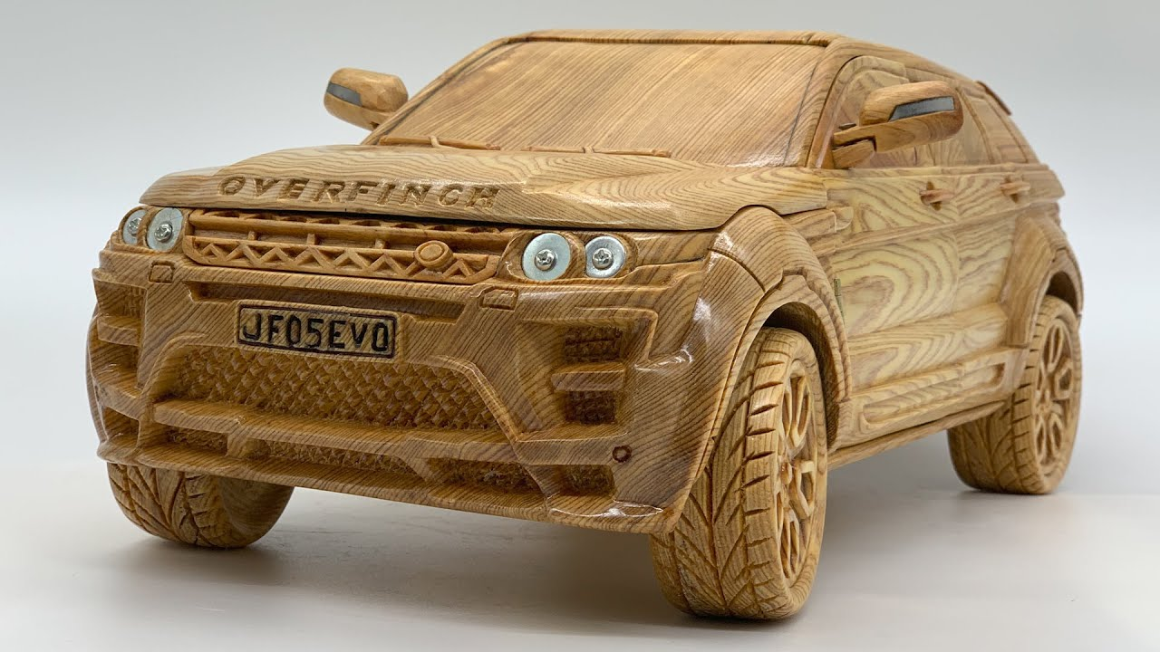 Wood Carving - Range Rover Evoque Overfinch 2013 - Woodworking Art