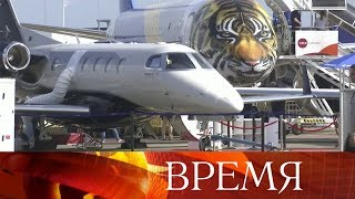 Российская программа на международном авиасалоне в Сингапуре.