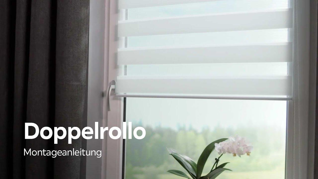 Turbo homeware DOPPELROLLO montieren - XXXLutz Montageanleitung - YouTube HC66