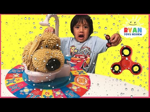 Thumbnail: SOGGY DOGGY TOY CHALLENGE Family Fun Game for Kids! Surprise Fidget Spinner toys for Winner