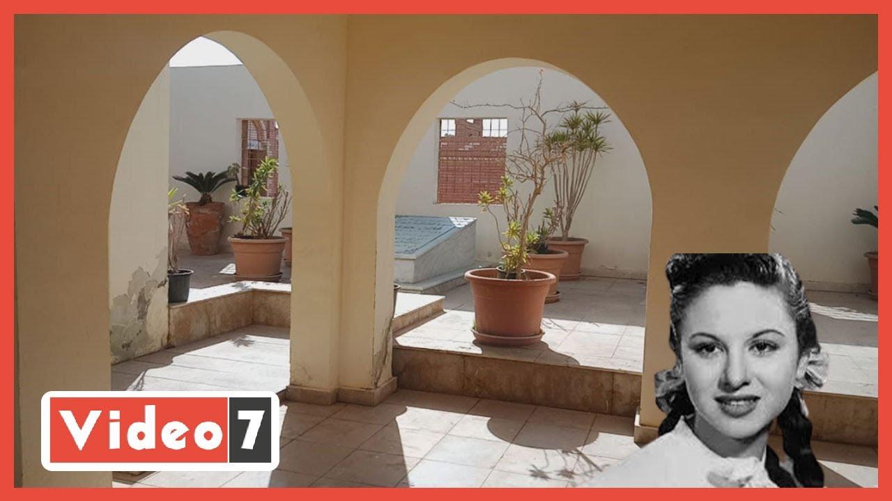 الذكري السنوية للفنانة فاتن حمامة  لم يحضر أحد لمدفن فاتن حمامة بعد وفاتها بـ 5 سنوات  - 12:00-2021 / 1 / 17