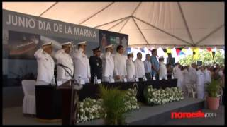 Celebran en Mazatlán el Día de la Marina Nacional