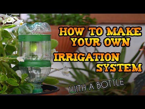 Make A Diy Drip Irrigation System Using Plastic Bottles Sa