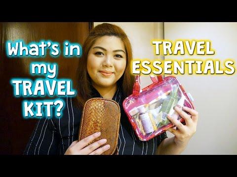 MY TRAVEL BEAUTY ESSENTIALS | Bing Castro