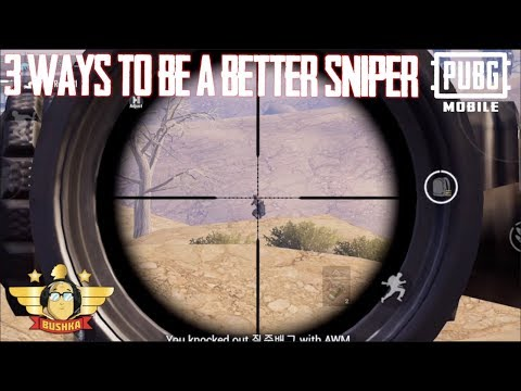 3 Ways to Be a Better Sniper Pubg Mobile TheBushka #TheBushka #sniper #pubgmobile