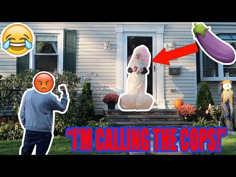 TRICK OR TREATING BEFORE HALLOWEEN! (COPS CALLED)