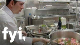 Big Kitchens: Princess Cruises' Oxtail Pasta Dinner | FYI