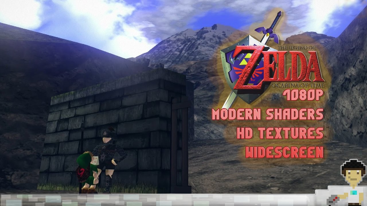 Legend of Zelda Ocarina of Time Graphic Modding Showcase! (1080p, Modern  Shaders, HD Textures)
