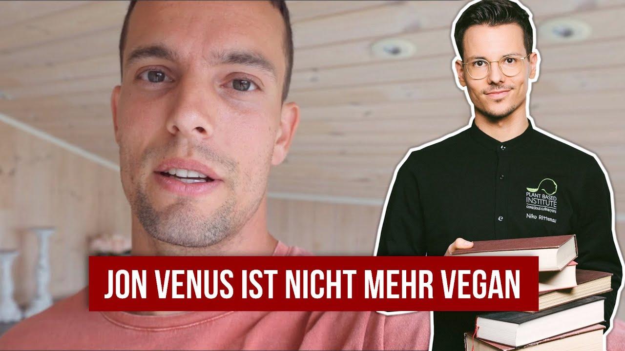 Jon Venus ist nicht mehr vegan • Stellungnahme