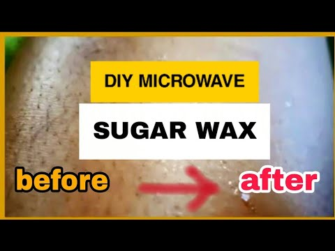 DIY Sugar Wax in the MICROWAVE -  Sugaring Wax Recipe and Tutorial (Abetweene recipe) thumbnail