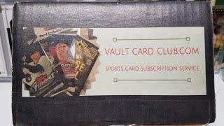Vault Card Club Football Subscription Box Opening