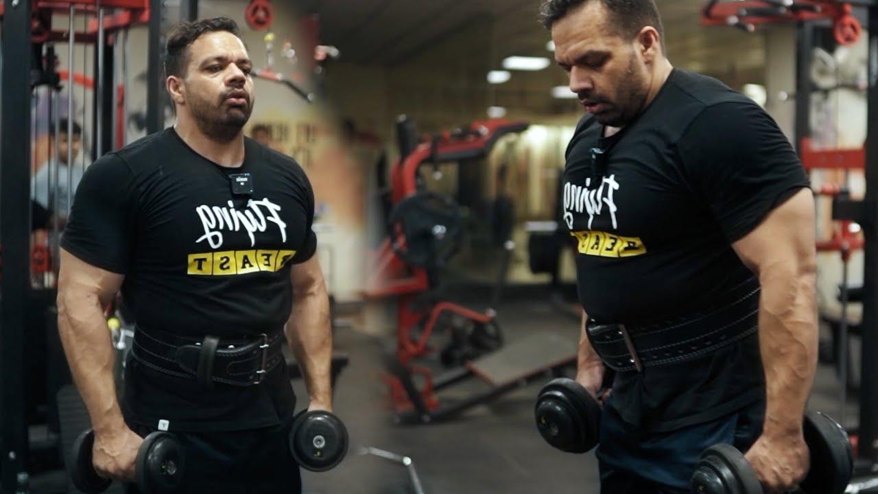 Intense Workout for Big Shoulders