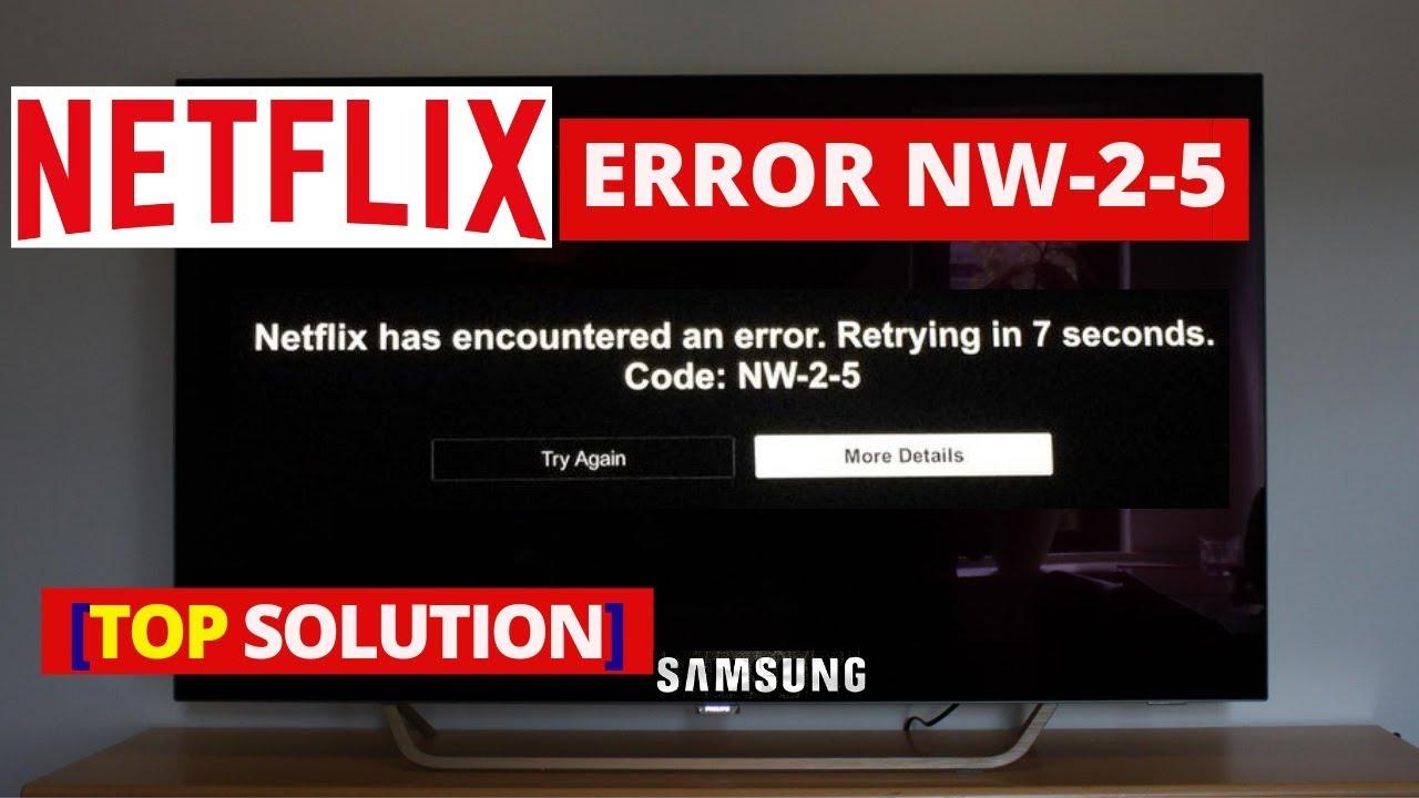 Netflix nw 2 5 smart tv