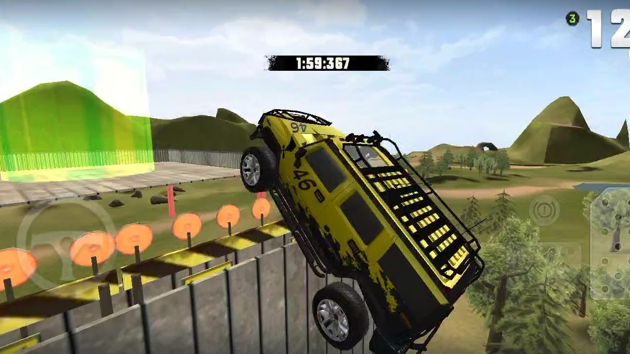Download extrme suv driving simulator 3D. omg games play.