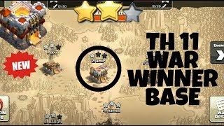 WOW   Th11 War Base Anti Everything   New Th11 War Base Anti 3 Star   TH11 Anti Queen  CLASH OF CLAN