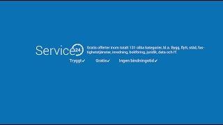 Gratis offerter från proffs. Snabbt, enkelt & tryggt! - Service24(, 2014-11-02T13:20:45.000Z)