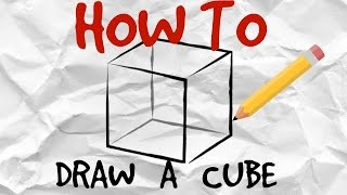 How to Draw a Cube | Simple Drawing Tutorial