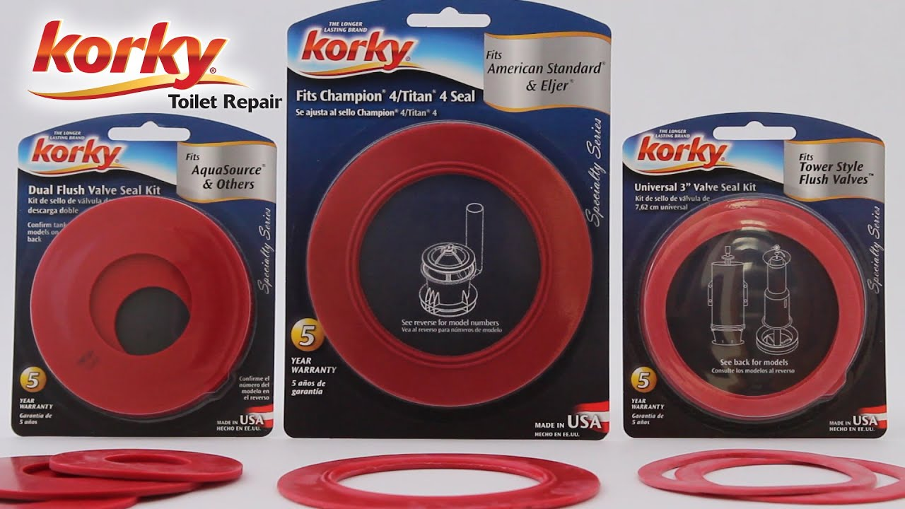 Flush Valve Seal Kits By Korky Youtube