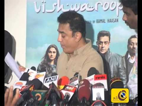 Kamal Hassan Press Meet Regarding Viswaroopam Release  - English