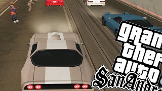 GTA SAN ANDREAS 100% - DRIFT SINIXTRO! (51)
