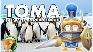 SUMMONERS WAR : Toma the Water Penguin Knight (gameplay spotlight)