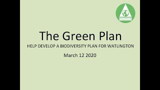 The Green Plan - WCAG