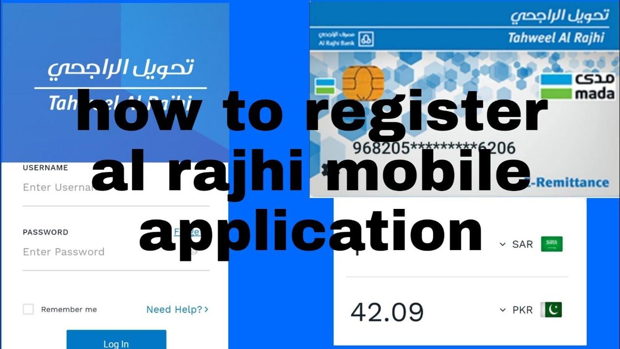 how to register online in al rajhi bank