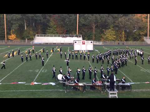 Enrico Fermi HS Marching Band at Lyman Hall - October 5, 2013