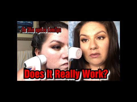 Nu Skin AgeLOC LumiSpa Review For Acne