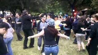 Repeat youtube video Persian Dance 13bedar California San Dimas Park 1 (Raghse Irani)