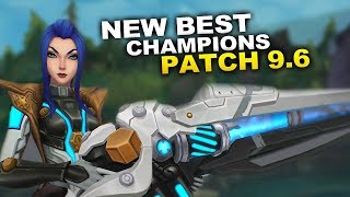 New Best Champions for Patch 9.6 Season 9 for Climbing in EVERY ROLE