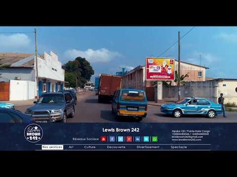 Du Centre-Ville à L'Aeroport | 4K | Pointe-Noire | République du Congo – Afrique Centrale
