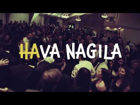 Hava Nagila Jewish celebration song - lyrics video