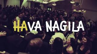 Hava Nagila Jewish Celebration Song Lyrics Video