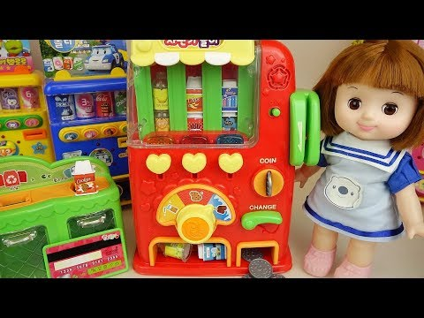 Thumbnail: Vending machine baby doll drinks toys Baby Doli play