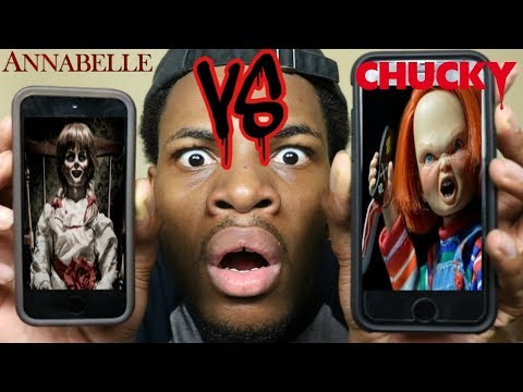 CALLING CHUCKY AND ANNABELLE *THEY HAD A FIGHT* OMG!!! (ROAST BATTLE)