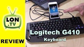 Logitech G410 Gaming Keyboard Review - Tenkeyless Mechanical Romer-G Keyboard