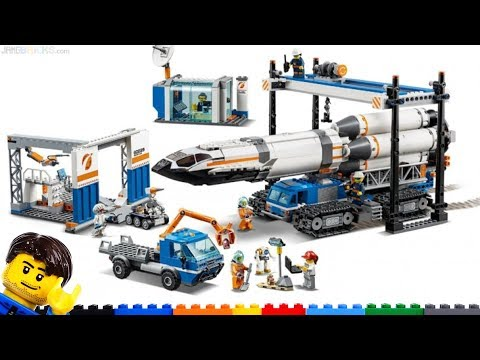 New LEGO Rocket Assembly & Launch 60229 pics & thoughts City space set