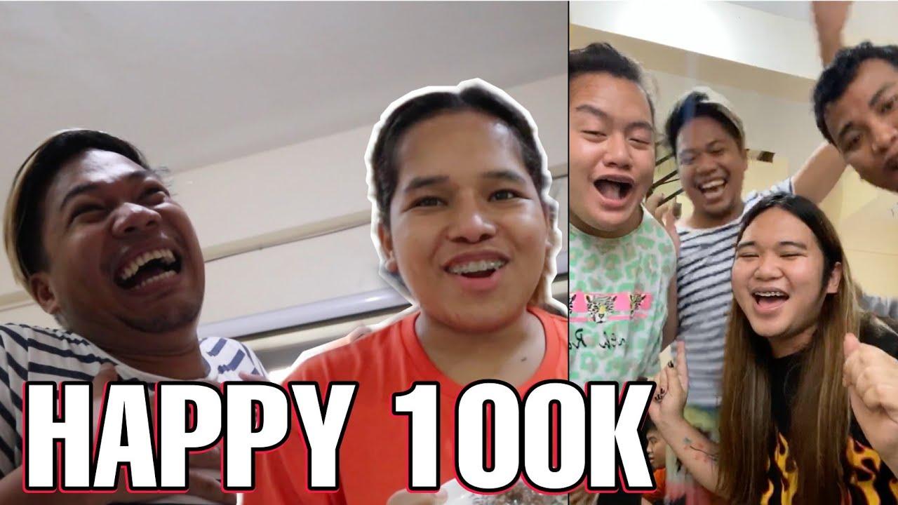 NAGPA CHAMPORADO PARA SA 100K SUBSCRIBERS NI BNT BALONG! (SUPER HAPPY NG MGA BAYUT!)