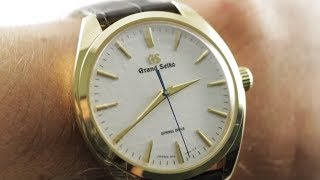 Grand Seiko Spring Drive Hand Wound SBGY002 Grand Seiko Watch Review