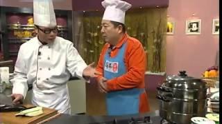 Китайская кухня - Серия 6:  1. Жареные речные креветки 2. Баклажаны в соевом соусе с чесноком