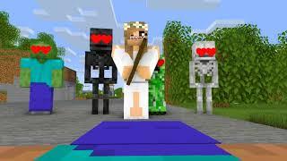 Monster School : LOVE CURSE APOCALYPSE #8 - Minecraft Animation